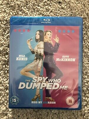 The Spy Who Dumped Me Blu-ray New & Sealed