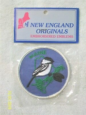MAINE State Embroidered Patch Emblem - NIP
