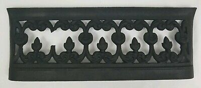 Antique Cast Iron Furnace Heat Register Grate Wall Vent Vintage 18 x 6.75