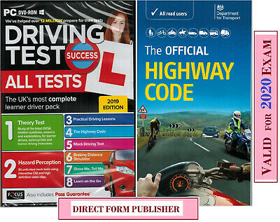 Driving Theory Test & Hazard + Highway Code Book. 2020 Latest Edition*NEW*Apc+Hw