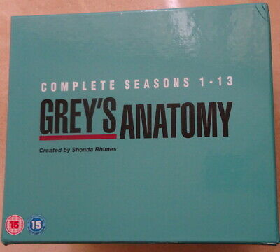 Greys Anatomy Complete Seasons 1-13 -   Dvd Box Set,