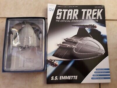 Star Trek Eaglemoss Issue 124 SS EMMETTE Model With Magazine