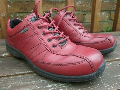 30cd448651a HOTTER MIST WOMENS Gore Tex Shoe/Trainer UK 7 Hiking/Walking RED ...