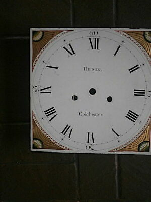 C1830 Longcase Grandfather Clock Dial 12X12 Inch Dial