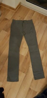 Tom tailor Denim Jeans Herren grau 28/32 Skinny Chino  wie neu