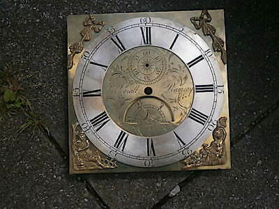 C1770 Longcase Grandfather Clock Dial 11X11 Inch Dial