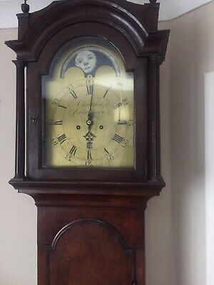 grandfather clock  8 day moon phase