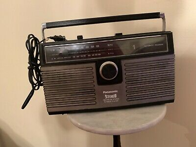 Vintage Panasonic RS-836A AM/FM Stereo 8-Track Player Tested Works