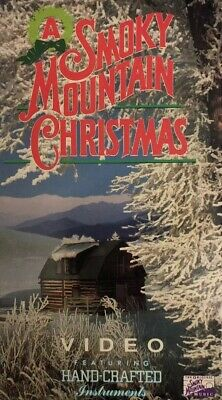 A Smoky Mountain Christmas Video VHS 1991-TESTED-RARE VINTAGE COLLECTIBLE-SHIP24