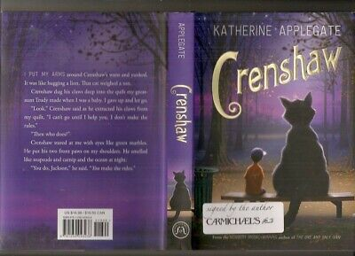 Crenshaw Katherine Applegate NEW signed 1st printing  first edition Hardcover