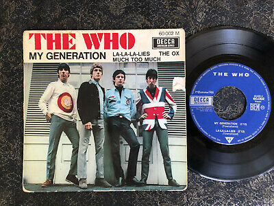 The Who My Generation original  French picture sleeve vinyl EP