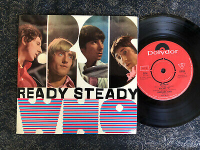 The Who Ready Steady Who Sweden picture sleeve vinyl EP