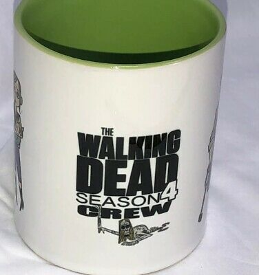 The Walking Dead Crew Only Coffee Mug Cup Straight From The Set of TWD Season 4