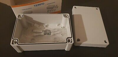 Fibox Tempo TA191209 ABS Enclosure JB 187x122x90mm IP65