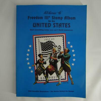1993 HARRIS FREEDOM III STAMP ALBUM - NEW and Unfilled