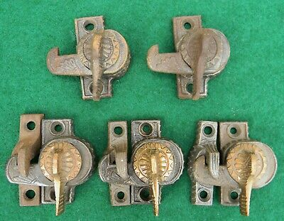 Vintage Eastlake Victorian Window Locks