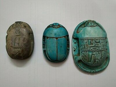 Ancient Egyptian Antique Scarabs Amulet Phironic