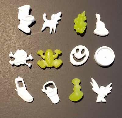 COMPLETE set 12 Replacement Parts Small Pieces for Operation Silly Skill Game