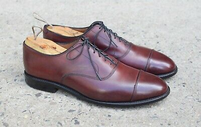 3c001f55159ef Allen Edmonds PARK AVE Reddish London Tan Oxfords sz 10.5 D MENS US