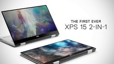 Dell XPS 15 2-in-1 Laptop i7-8705G RX Vega 16GB RAM 512GB PCIe SSD 4K UHD Touch