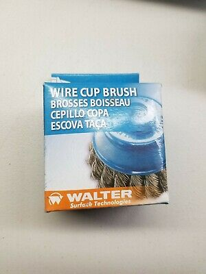 "Walter - 3"" 5/8-11 St St Cup Brush - 662980137345"