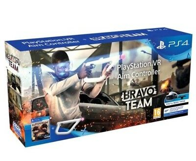Aim Controller PS VR + Bravo Team. New and Sealed.