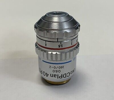 Olympus LWD CDPlan 40x PL Phase Contrast Microscope Objective 160mm CD Plan