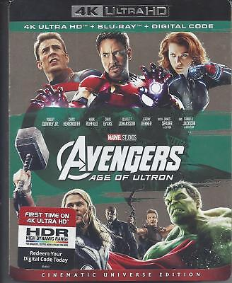 The Avengers Age Of Ultron (4K Ultra Hd/Bluray)(2 Disc Set)(Used)