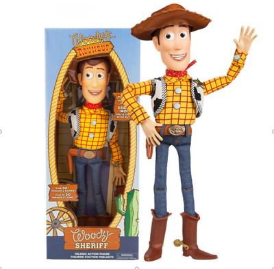 AU WOODY Toy Story 4 Pull String Action 15'' Pull String Talking Figure Offical