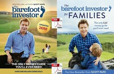 The Barefoot Investor & Families . Electronic Instant Delivery. Read below.
