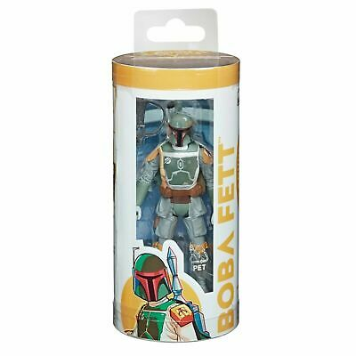 Star Wars Galaxy of Adventures Boba Fett 3.75 Action Figure & Mini-Comic