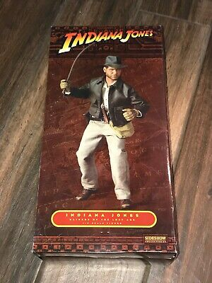 Indiana Jones Raiders of the Lost Art 1:6 Scale Figure in Box Sideshow #3905
