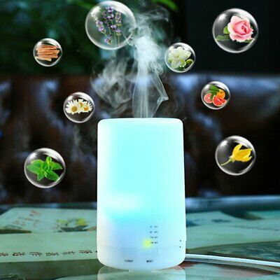 Electric Air Diffuser Aroma Oil Humidifier Night Light Home Relaxing Defuser TU
