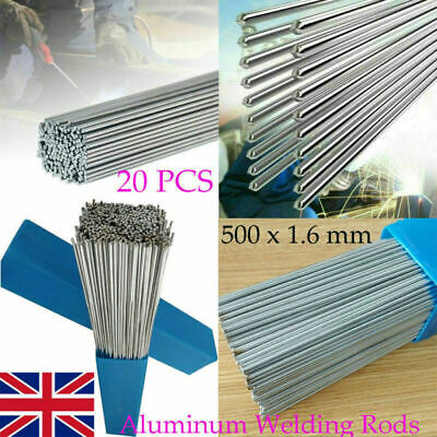 New Super Melt Welding Rods Electrodes Silver Alumifix Flux Cored Low Temp UK