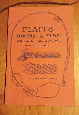 Plaits Round & Flat plus how to make a Bullwhip Ron Edwards