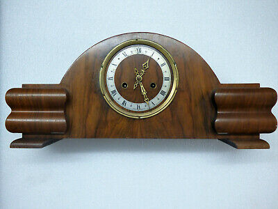 Enfield Mantle Clock Vintage Art Deco In Good Working Condition