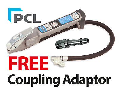 "PCL MK4 Tyre Inflator 21"" Clip On Hose With A Free Coupling - AFG4H04"