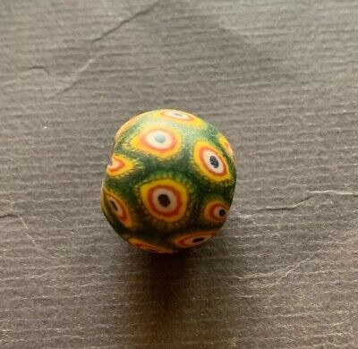 Alte Glasperle, ,Old Glass Bead Indonesien Java China Tibet Nepal Buddha (A105)
