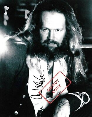 "David Allan Coe 8x10 Signed Autograph Reprint Photo ""Mint"" {FREE SHIPPING} 06"