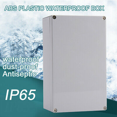 Waterproof IP65 ABS Junction Box Enclosure Case Outdoor Terminal Box Many Size S