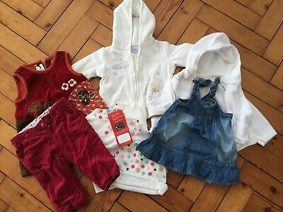 0 to 6 months Baby Girl clothes bundle: Disney baby, Zara, M&S, H&M IMMACULATE