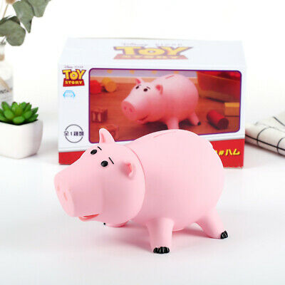 18CM Toy Story Hamm Piggy Bank Pink Pig Coin Box PVC Model Toy For Children Gift