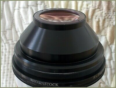 Lente 1064nm Rodenstock F-Theta-Ronar  f= 160mm  made in Germany