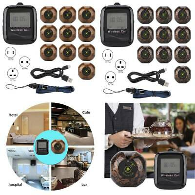 Multi-Button Caller Pager System for Restaurant Guest Paging System 10PCS Pagers