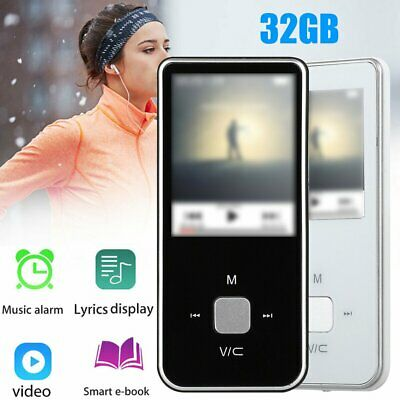 HiFi MP3 Music Player with FM Lossless Sound Voice Recorder up to 32GB