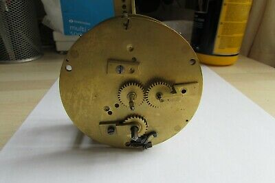 French clock movement by J Charles, Paris for spares or repair.