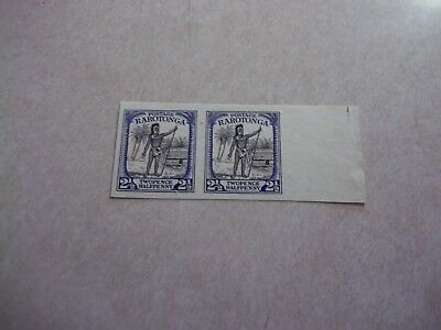 COOK ISLANDS Stamps SG 83 Scott 76 IMPERF PAIR CHIEF NG