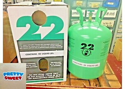 R22 R-22 R 22 Refrigerant 10 lb. Cylinder, Virgin Pure, Free Ship, Pretty Sweet
