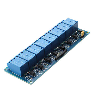 5V 8-Canal Modulo Rele Shield for Arduino ARM PIC AVR DSP Electronic B3A3