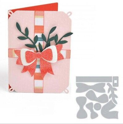 Bow Metal Cutting Die Scrapbooking Crafts Mold Making Album Embossing decoration